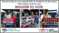 Encourage your friends to register to vote