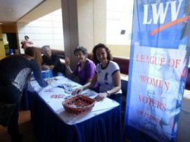 League of Women Voters Voter Registration Drive