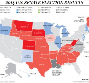 Latest poll results Senate Race