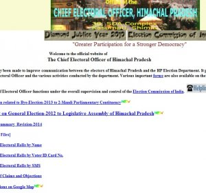 Online Voter registration 2012