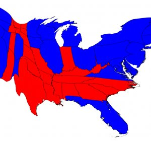 Presidential election Results Map