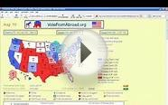 Animated Electoral Map