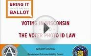 Bring It to the Ballot - Voting in WI 2015 (Government