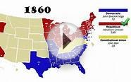 electoral college party evolution map