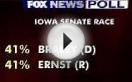 Fox News Battleground poll results from four states
