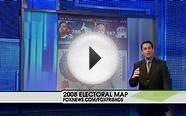 Fox News Elections 2008 Battlegrounds Interactive Map by