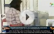 Hondurans Vote in Primary Elections