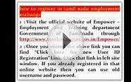How to Online Register in Tamil nadu (TN) Employment