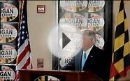 Larry Hogan announces latest poll results - Dead Heat Race