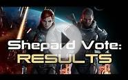 Mass Effect: Chose Your Shepard Vote - Results, Winner and