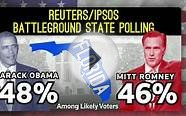 Obama ahead in swing states, Electoral College votes - The