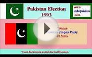 Pakistan General Election 1993 Results