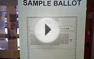 sample vote ballot