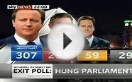UK Election Exit Poll Results 2010 / Sky News